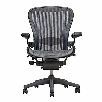 View Details  Herman Miller Aeron Chair Open Box Size B Fully Loaded   Hardwood Caster  • 474.11$