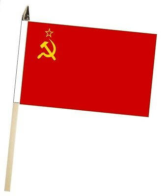 USSR Soviet Union Russia Large Hand Waving Courtesy Flag • 10£