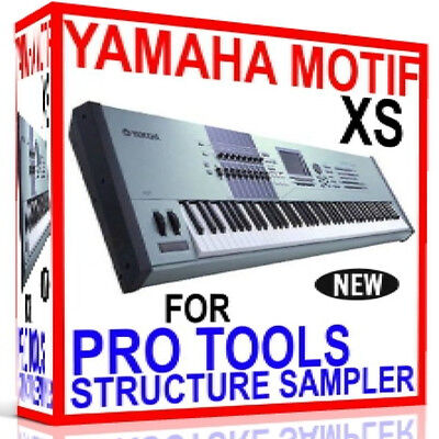 £21.62 • Buy YAMAHA MOTIF XS For PRO TOOLS STRUCTURE Sampler Presets/Sounds 7 DVD'S 24GB