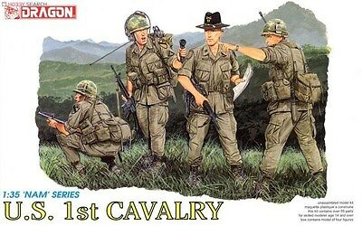 Dragon 3312 1/35 U.S. 1st Cavalry (4 Figures Set) • 15.80£