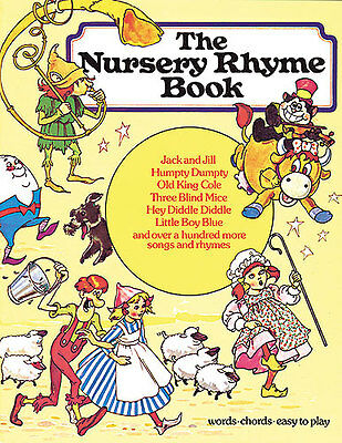The Nursery Rhyme Book Learn To PLAY Childrens Piano Guitar PVG Music Book EASY • 12.99£