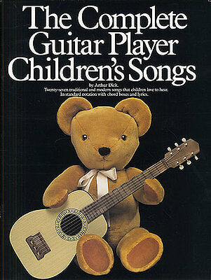 The Complete Guitar Player Childrens Songs Learn To Play Beginner Music Book • 14.99£