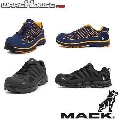 AU123.50 • Buy New MACK Boots Vision Work Safety Shoes With Composite Toe~ Red, Blue Or Black