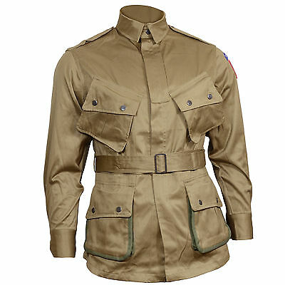 $80.01 • Buy US Airborne M1942 Jacket - American Paratrooper Repro Army D-Day All Sizes New