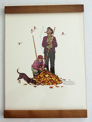 $ CDN26.65 • Buy Vintage 1970's Norman Rockwell Pensive Pals Grandpa And Me Series Framed Print