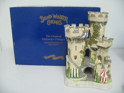£79.60 • Buy David Winter Cottage  The Kingmaker's Castle  Limited Edition 1994 No.0878/7150