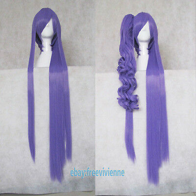 $30.88 • Buy VOCALOID Gakupo Purple Long Two Style Cosplay Party Hair Full Wig+ Wig Cap