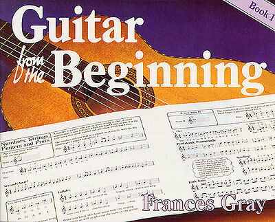 Guitar From The Beginning Learn To Play Kids Childrens Lesson Music Book 1 • 12.99£