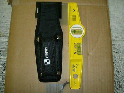 STABILA Strong Magnetic Scaffolders / Boat Level, 81SM AND HOLSTER NEW • 32.49£