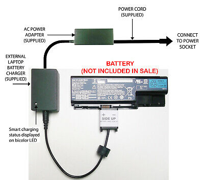External Laptop Battery Charger For Acer AS07B31 AS07B32 AS07B42 AS07B72 MS2221 • 52.98£