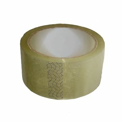 £49.95 • Buy 36 Vibac Clear Tape Industrial Adhesive Parcel Packing Packaging Tape 48mm X 66m