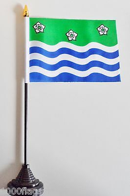 £5.75 • Buy Cumbria County Polyester Table Desk Flag
