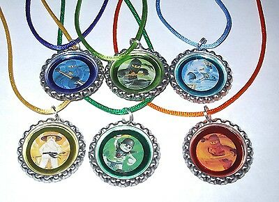 $9.99 • Buy 13 Lego Ninjago Necklace With Matching Color Cords Birthday Party Favors