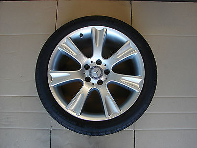 $499.99 • Buy 219 Cls550 Cls500 18x9.5 Rear Wheel With Mint Michelin Tire