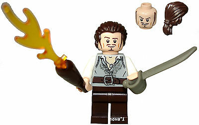£10.90 • Buy Lego Pirates Of The Caribbean Will Turner Minifigure  New