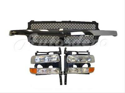 $300.13 • Buy For 99-02 SILVERADO 2500HD 3500 GRILLE CHR MOLD HEADER SUPPORT HEADLIGHT SIGNAL