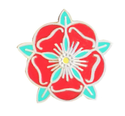 Lancashire County Red Rose Small Pin Badge • 4.50£