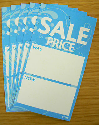 £13.99 • Buy Boutique SALE PRICE TAGS SWING TICKETS LABELS BLUE X 500