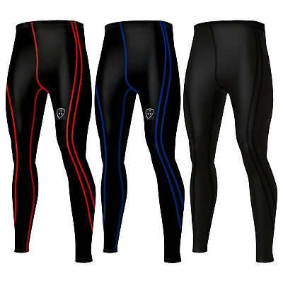 DHERA Men's  Compression Base Layer Pants Leggings Running Skin Tight Trousers • 11.79£