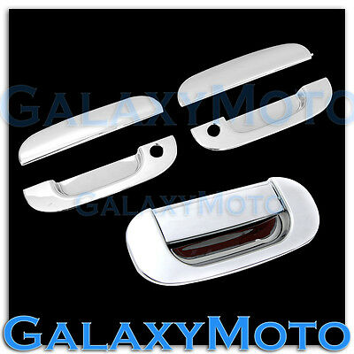 $45.95 • Buy Chrome 2 Door Handle W. KH+Tailgate Cover For 94-01 Dodge Ram 1500+2500+3500