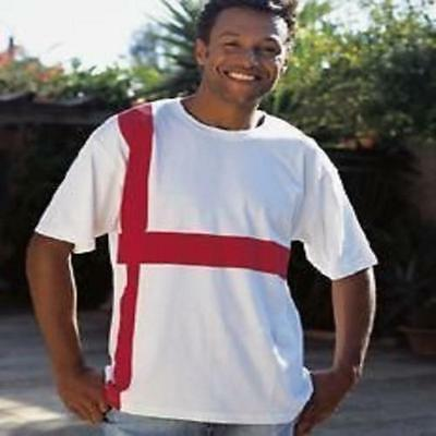 £5.99 • Buy England St George Flag Cotton T-Shirt Tour Collection Super Quality All Sizes