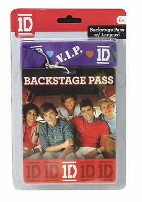 £7.82 • Buy One Direction 1d Vip Backstage Pass Lanyard Unisex Accessories Brand New Gift
