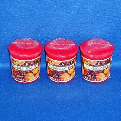 Yankee Candle Co. - Set Of 3 Votives / Samplers - NEW • 2.69£