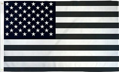 Black And White Subdued United States Of America Army 5'x3' Flag  • 8£