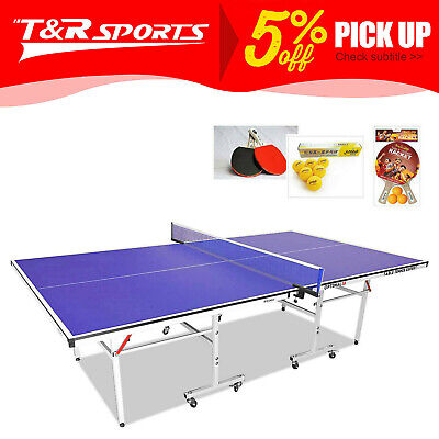 AU482.99 • Buy PRIMO 19mm Table Tennis Table Ping Pong Table W/ Upgraded Accessories Package