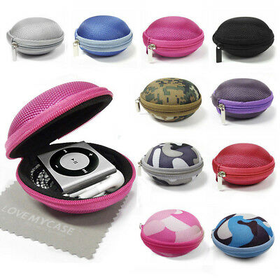 Fabric MP3 Player Clamshell Case For Apple IPod Shuffle 2nd, 3rd, 4th Generation • 3.95£