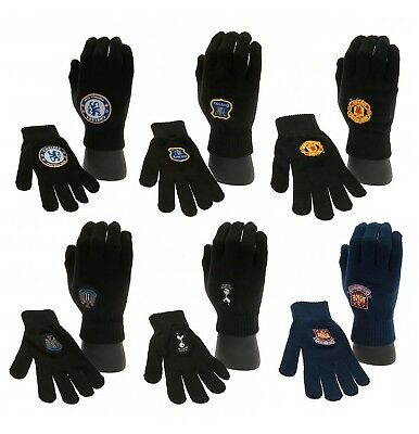 Football Gloves Crest Unisex OFFICIAL Christmas Xmas Father's Day Birthday Gift • 6.95£