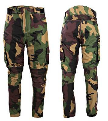 £39.99 • Buy Camo CE Armour Textile Waterproof Motorbike Motorcycle Trousers Jeans Pants Army