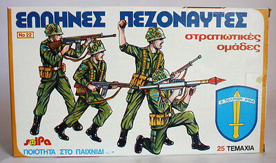 $99.99 • Buy Rare Vintage 70's Solpa Greek Marines Plastic Figures Soldiers Greece New Nos !