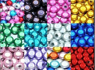 3D Illusion Miracle Round Acrylic Beads Various Sizes And Double &single Colours • 4.49£