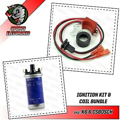 $75.45 • Buy Electronic Ignition 009 & 034 Bosch Distributors With Genuine Bosch Coil