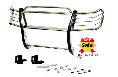 $1339.99 • Buy 00-06 Suburban 1500 / Tahoe 1500 Chrome Stainless Steel Brush Grill Guard