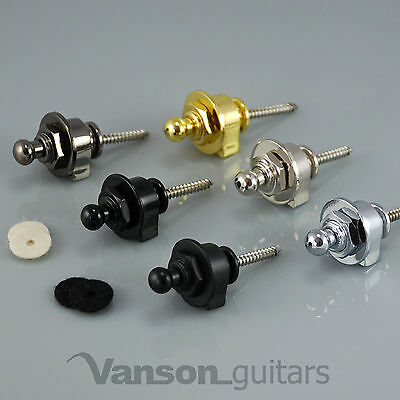 $ CDN14.78 • Buy 2 X NEW High Quality VANSON Strap Locks For Electric Guitar, Bass, Or Acoustic