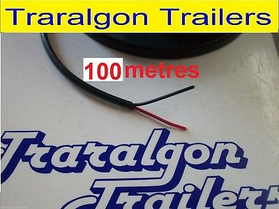 AU202 • Buy 100m 2 CORE Electrical Speaker  WIRE CABLE TRAILER TRUCK Lights 12v TWIN K303