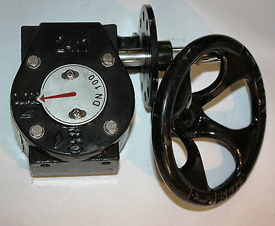 AU75 • Buy Gearbox To Suit 4  Inch 100mm Butterfly Valve Worm Gear Reducer NEW