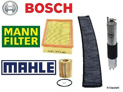 $98.75 • Buy BMW E46 3-Series Complete Oem  Filter Set Oil-Air-Gas & Charcoal Cabin Filter