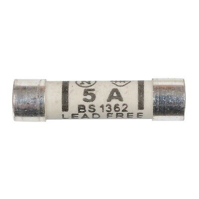 25x 5a Domestic Fuses Plug Top Household Mains 5amp Cartridge Fuse • 3.29£