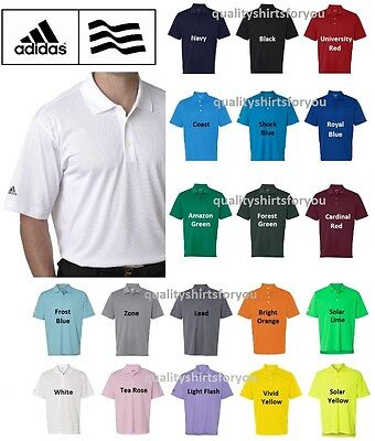$25.95 • Buy ADIDAS Mens Dri Wick Climalite GOLF Polo Sport Shirts Size S-3XL NEW A130