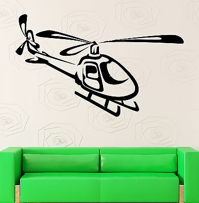 $29.99 • Buy Wall Stickers Vinyl Decal Nursery Military Helicopter Airforce Kids (ig847)