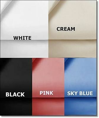 £7.75 • Buy Luxury 100% Egyptian Cotton Fitted Sheet - All Colours - Bunk Size/ Small Single