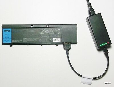 £52.98 • Buy External Laptop Battery Charger For Dell Latitude XT3 Tablet, RV8MP H6T9R 1NP0F