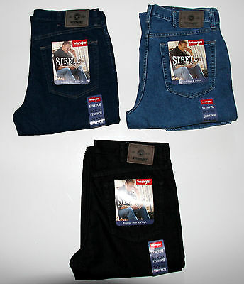 11d9a374 New Wrangler Men`s Stretch Jeans Regular Fit All Sizes Three Colors • 33.00$