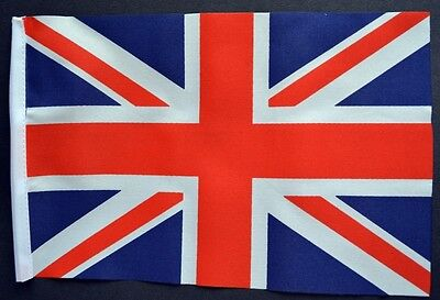 UNION JACK BUDGET FLAG Small 9 X6  Great Britain British BUDGET GREAT FOR CRAFTS • 2.79£