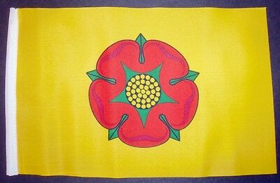 LANCASHIRE BUDGET FLAG Small 9 X6  GREAT FOR CRAFTS ROSE Lancaster • 2.79£