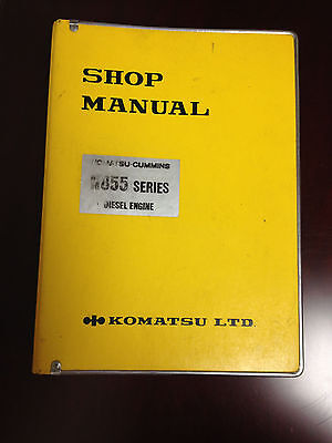 AU201.18 • Buy Komatsu-Cummins N855 Series Diesel Engine Shop Manual
