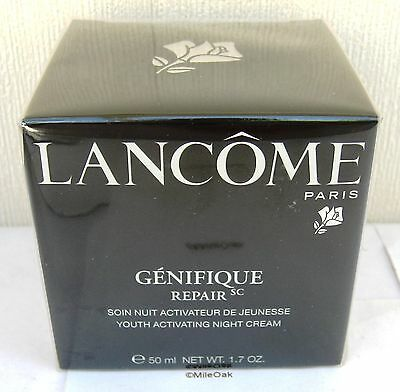 Lancome Genifique Youth Activating Night Cream 50ml - New -  Cellophane Sealed  • 57.75£